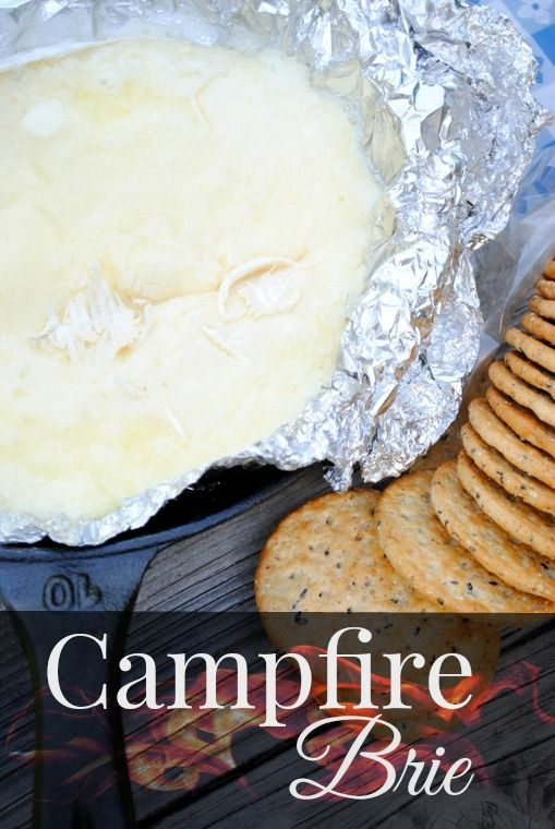 Tenting Gourmand: Campfire Brie #Campfire, #Cheese, #Cooking, #OffGrid, #Recipe