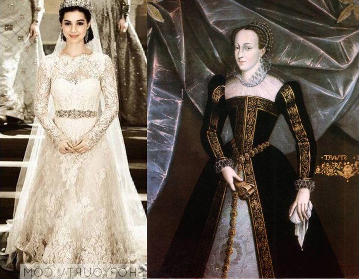 Best 20 mary stuart ideas on pinterest for Reign mary wedding dress