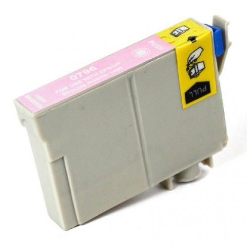Buy T0796 (T079620) HY Light Magenta Cartridge for Epson at Houseofinks.com. We offer to save 30-70% on ink and toner cartridges. 100% Satisfaction Guarantee.