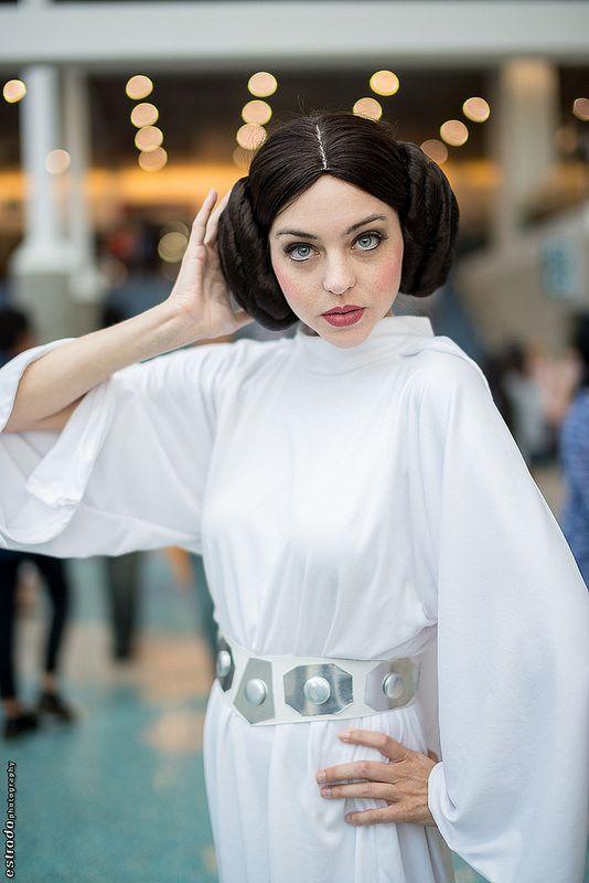 Princess Leia (Star Wars) #Cosplay #AX2014
