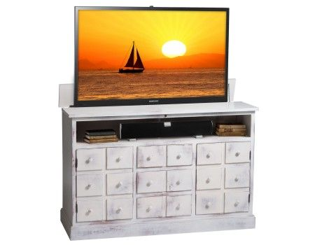 19 best White TV Lift Cabinets images on Pinterest