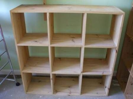 Pine cube shelving price 30 location scotland for Furniture world aberdeen