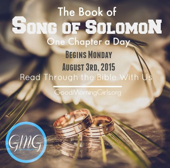 Introduction & Resources to the Book of Song of Solomon {Chapter 1-5} - Women Living Well