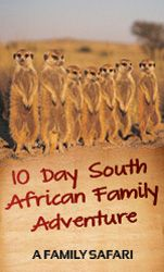 10 Day South African Family Adventure - Guided Family Safari - The Fly in Safari Company