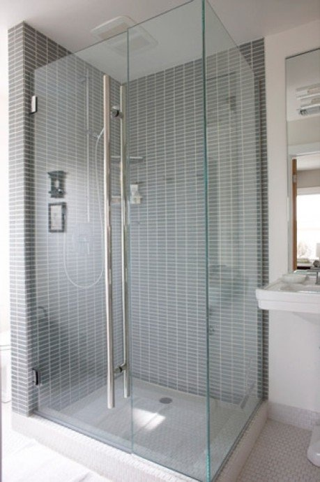 86 best images about dream home bathroom master on pinterest - Shower stall small space pict ...