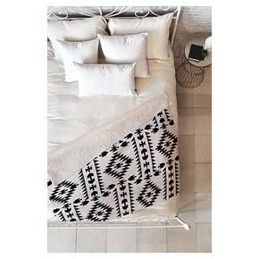 The Holli Zollinger Geo Panel White Sherpa Throw Blanket by DENY Designs may be the softest blanket ever! Featuring a printed plush silky smooth top side with a fuzzy warm underside, it's the perfect blanket to snuggle up with on the couch, bed, and anywhere in between! This Holli Zollinger Geo Panel White Sherpa Throw Blanket by DENY Designs is sure to be the talk of company with artwork provided by one of DENY Designs select artists. With each purchase of a DENY Designs product a portio...