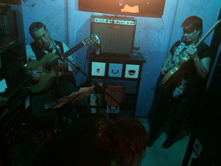 Shaz jamming with Sinisa & Vic at Waves