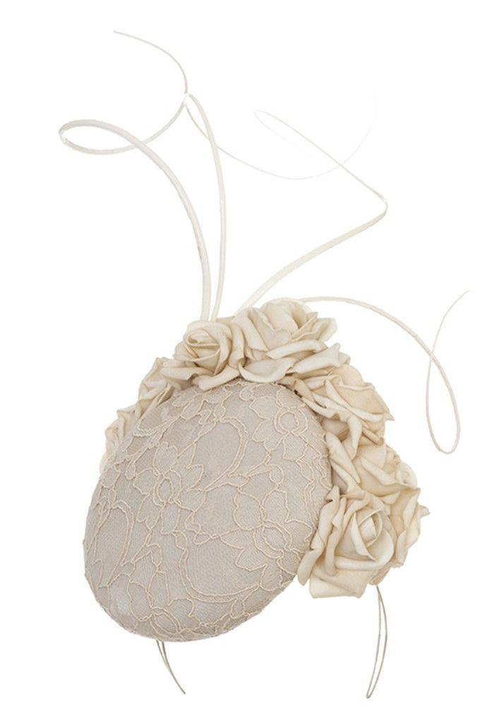 Emily Baxendale - Goodwick - cream- pillboxhat- ascothat- emilylondon- hats- london