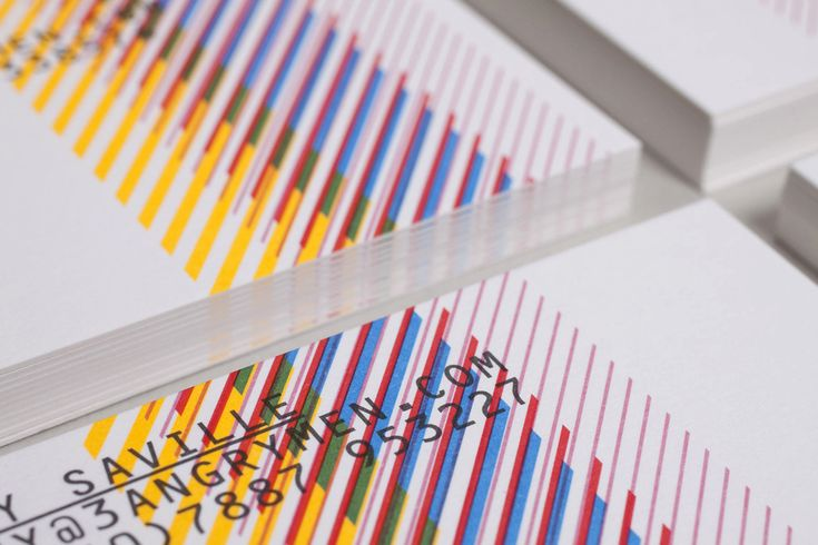 Business card design by Build for London based production and digital content company 3angrymen.