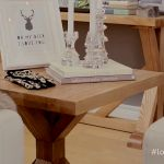 Another gorgeous find! The 100% Solid Ash Wood Farmhouse side tables from Sears. Love Your Space with Nicholas Rosaci