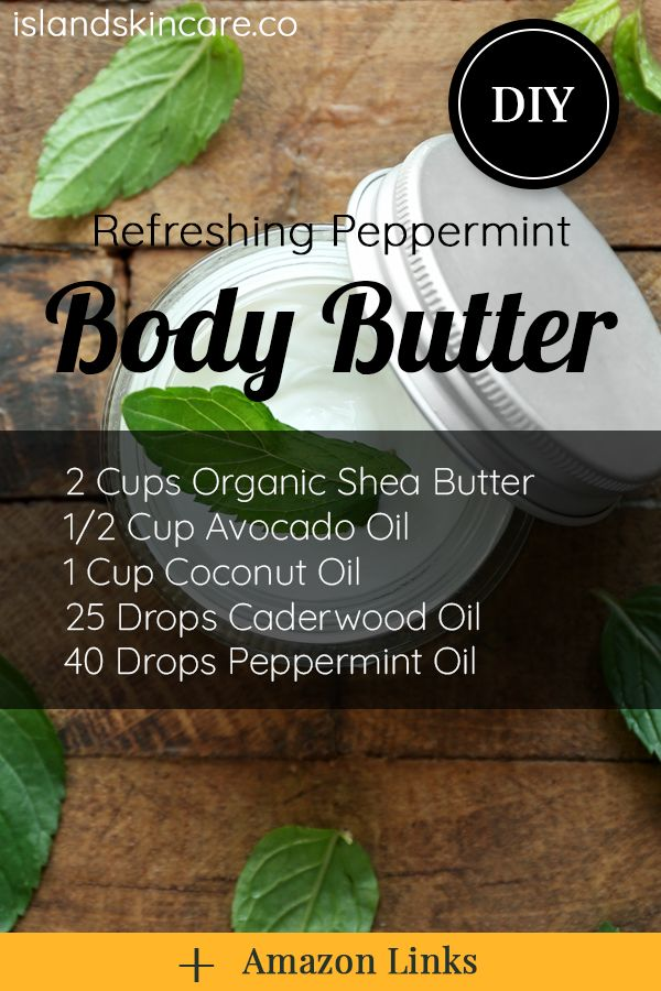 DIY – Refreshing Peppermint Whipped Body Butter