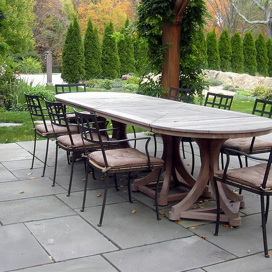 Munder Skiles :: A Sampling Of Our Work · Wooden TablesGarden  FurnitureOutdoor ...