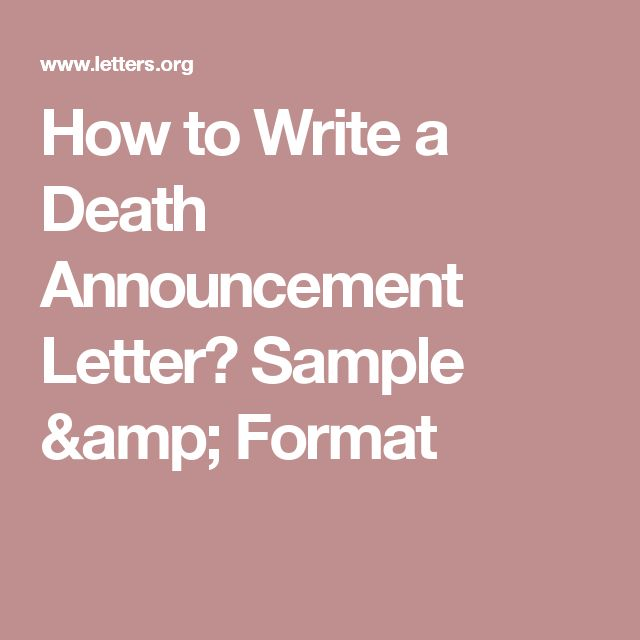 1000 Ideas About Letter Format Sample On Pinterest