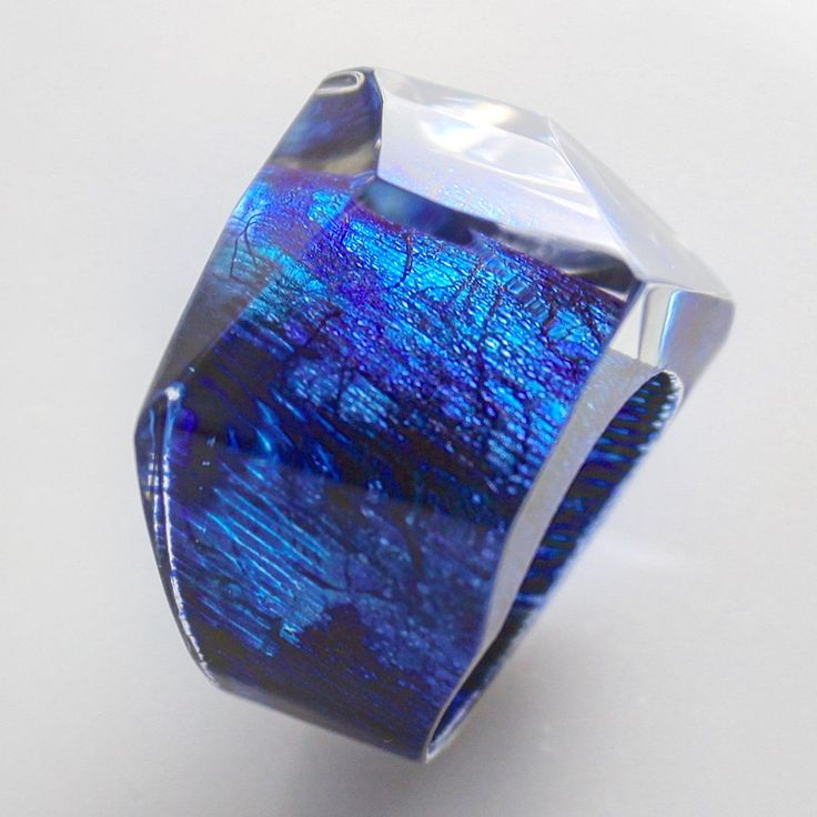 Deep Blue Sea metallic finishes and my abstract scrawl. From new ring collection.              #randheidinger #modernistrand