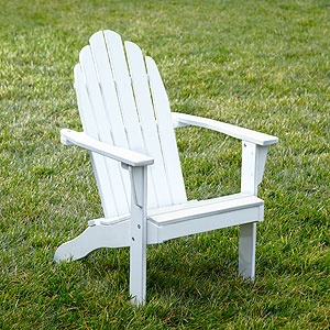 Kids' Adirondack chairs $39.99 at Cost Plus World Market - A couple of these would be darling on the patio