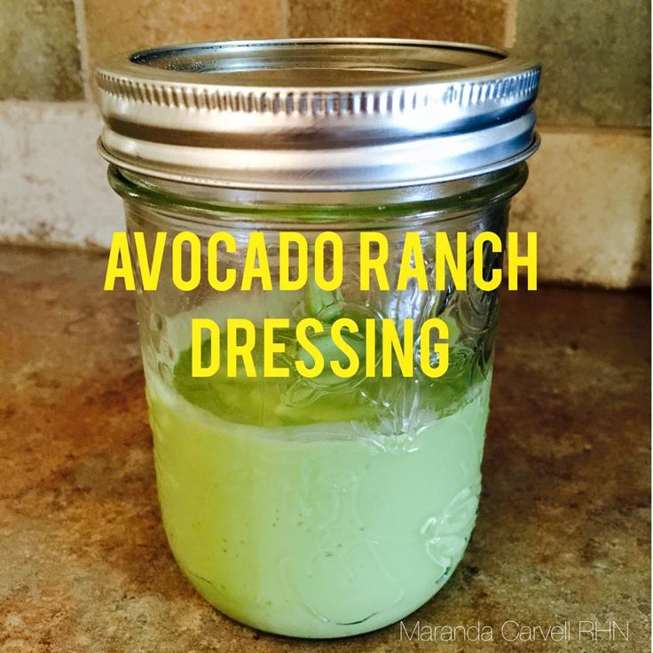 Easy Avocado Ranch Dressing Recipe  - Vegan, Dairy Free and Gluten Free