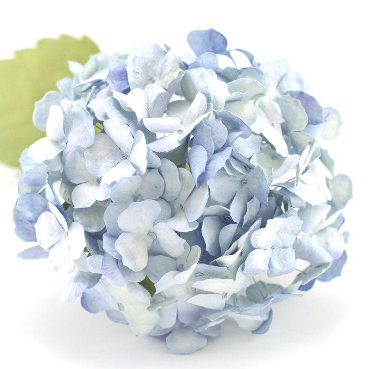 Paper Hydrangeas- Royal Blue – Paper Flowers Australia