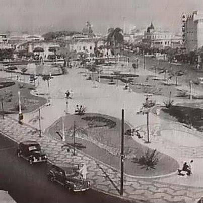 Praça Saens Peña  Tijuca  1940