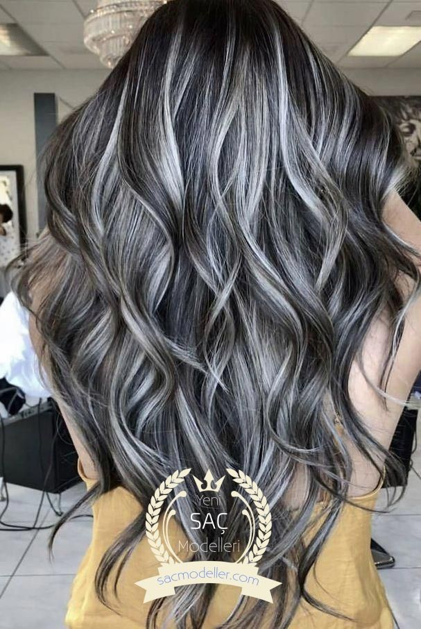 Gorgeous Hairstyles For Black Hair Shades Grey Hair Color Hair