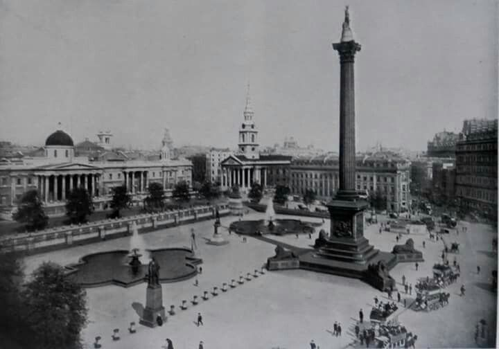 Trafalgar Square 1901