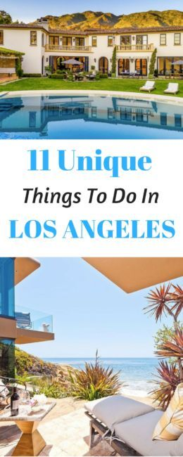 11 Totally Unique Things To Do in LA - Journalist On The Run