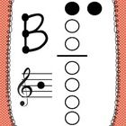 This set includes 10 recorder fingering posters to use in the elementary music classroom.  The set features the following notes: C, D, E, F, F#, G,...