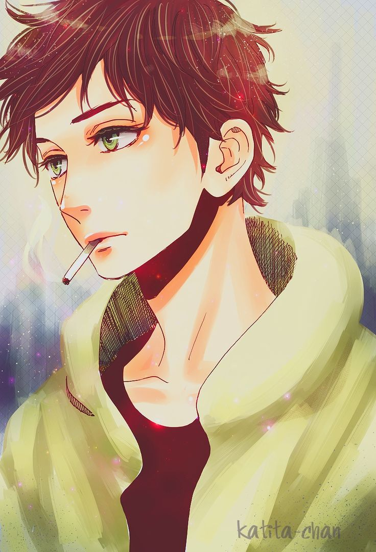 Has the eyes of the girl yea yea~~ but what a cute face!! Its Just.. WHY ARE YOU SMOKING??? You'll have a bad taste in your mouth and no one will want to kiss you and then you'll DIE ALONE...go for it