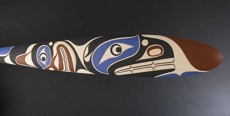 Kwakiutl Raven Paddle - Stonington Gallery