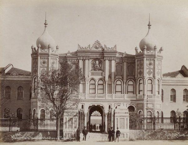 Topçu Kışlası 1890lar