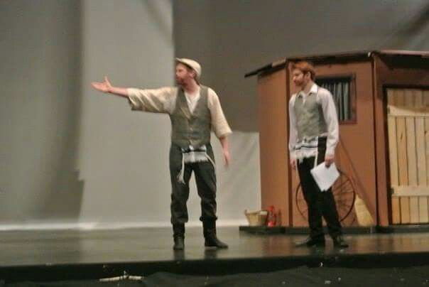 Fiddler on the Roof - Tevye and Per hik