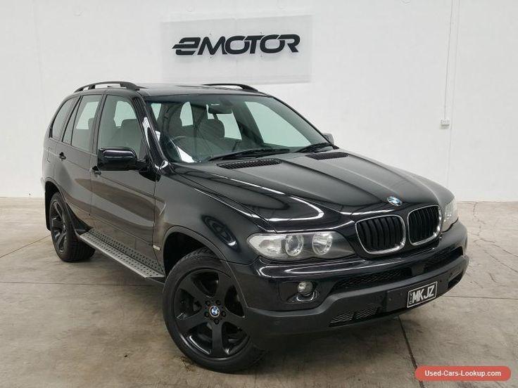 2004 BMW X5 E53 Black Sports Automatic Wagon #bmw #x5 #forsale #australia