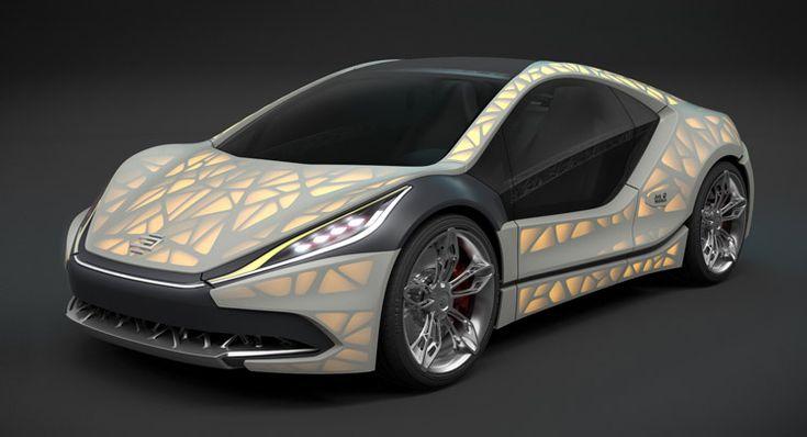 Edag Light Cod Printed Concept Car