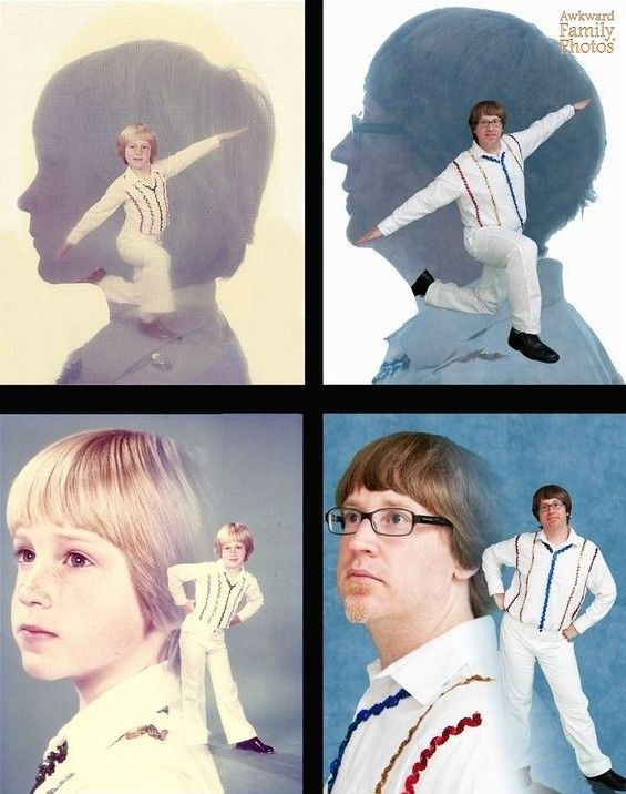 so tempted by the ridiculously awkward family photo ones... aha