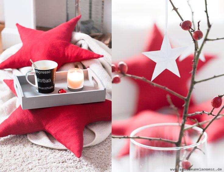 Diy Star Pillows 3 D Paper Stars