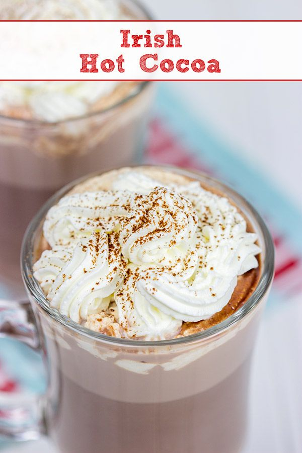 """Irish"" Hot Cocoa"