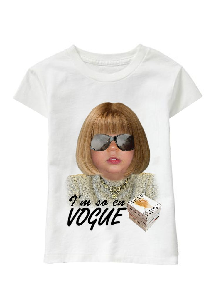 I'm So En Vogue personalized T-shirt www.ghigostyle.com