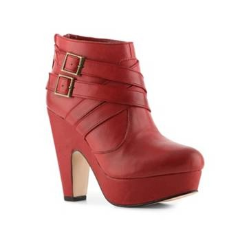 Dsw Red Wedge Shoes