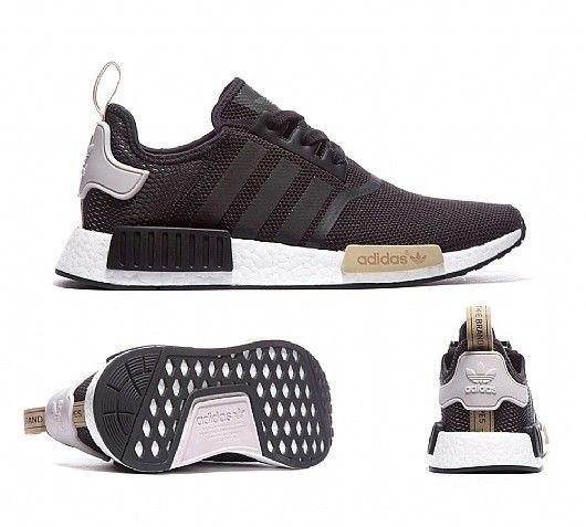 Adidas Originals NMD In Utility Noir de La Glace Bordeaux Adidas latest  ladies leisure sports shoes, style fashion, light.