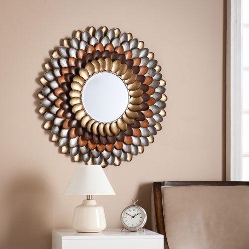 albion round decorative mirror - Round Decorative Mirror