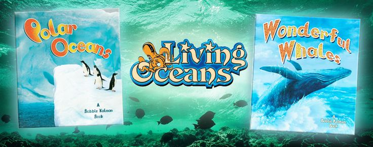 The Living Ocean series (Crabtree Publishing)_ provides a fascinating portrayal of the complex relationships between ocean plants and animals, and their diverse habitats. Grades 3-6