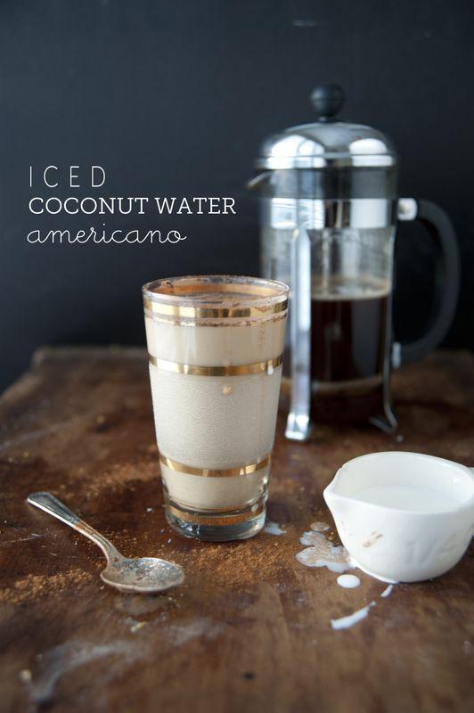 how to make an americano coffee drink