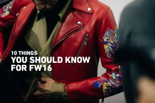 Fashion Trends 2016: A Review of FW16 | Highsnobiety