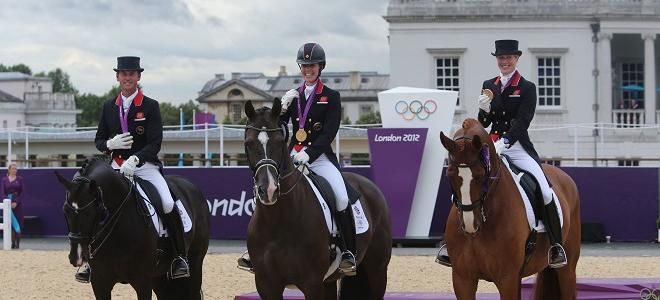 Dressage gold as GB beat Beijing haul | Team GB