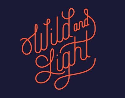 Wild and Light Branding and Web Design