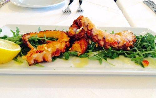 Best octopus in Buchares @ Hambar