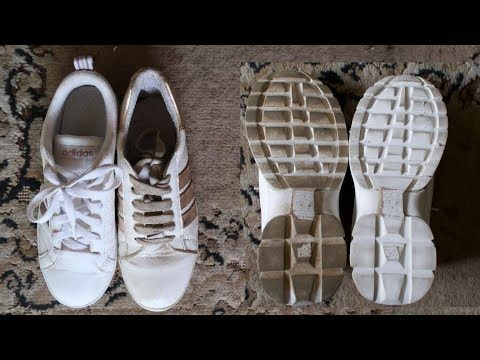 How to Clean White Shoes with TISSUE