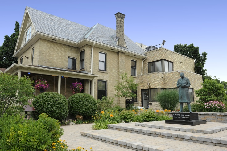 The famous Banting House in London, Ontario's Southwest