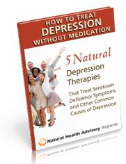 depression free report web 3 13 How to Treat Depression Without Medication: 5 Natural Depression Therapies that Treat Serotonin Deficiency Symptoms and Other Common Causes of Depression