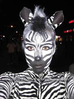 Coolest Female Zebra Costume 10: Hi! My name is Alanna Kendall and ever since I can remember I've been obsessed with Halloween... well obsessed with getting dressed up and costumes actually.