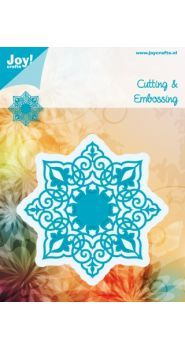 6002/0358 Cutting & Embossing stencil - 8 points